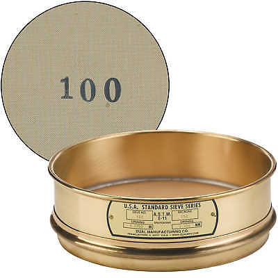 "No. 100; 150 µm/0.0059"" Dual Manufacturing Standard Testing Sieve"