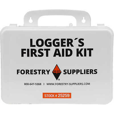 Forestry Suppliers Logger's First Aid Kits Plastic Case