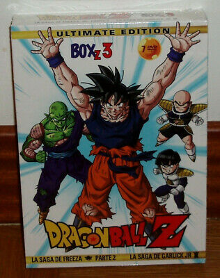 Dragon Ball Z Box 3 La Saga De Freeza 2º Parte 7 Dvd Remasterizada Nuevo Manga