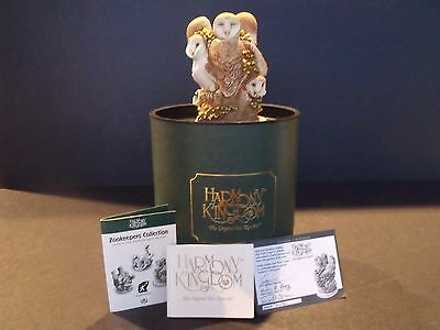 "HARMONY KINGDOM ZOOKEEPERS ""IVORY TOWER"" - #7071 of 7200 - #TJLEOW - NEW IN BOX"