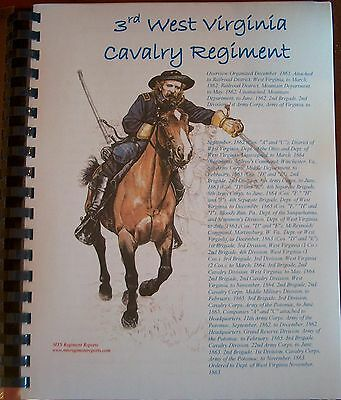 Civil War History of the 3rd West Virginia Cavalry Regiment (Union)