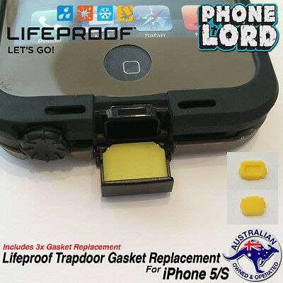 new concept 6901e bc152 LIFEPROOF REPLACEMENT RUBBER Gasket Parts Door, Pad Seal For iPhone ...