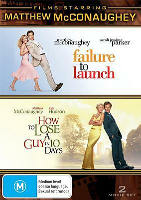 How To Lose A Guy In 10 Days - Matthew Mcconaughey Comedy New Dvd Movie Sealed