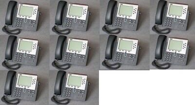 Lot of 100 Cisco CP-7960G IP Phone 7960 VoIP Business Phone w/handset (More)
