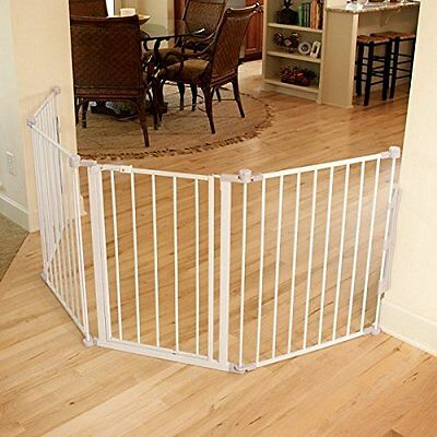 Regalo 76-Inch Super Wide Metal Configurable Gate  White (1175) FREE SHIPPING