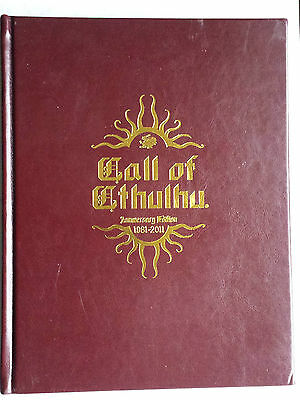 core rules 30th anniversary hardback Call of cthulhu CoC horror RPG roleplaying