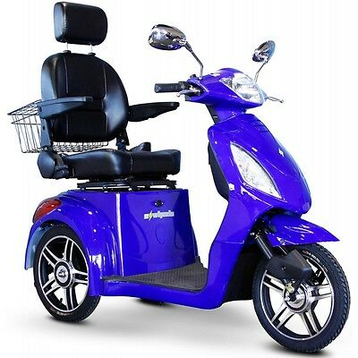 EW36 Mobility Scooter. Up to 15 Mph and 45 Miles Range on a Single Charge