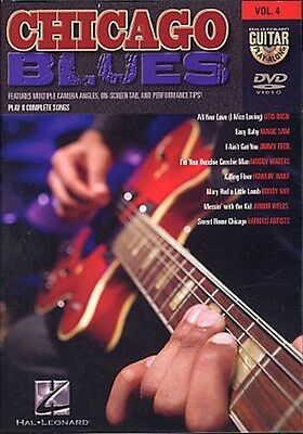 Guitar Play-Along DVD Volume 4: Chicago Blues Gitarre DVD (Region 0)