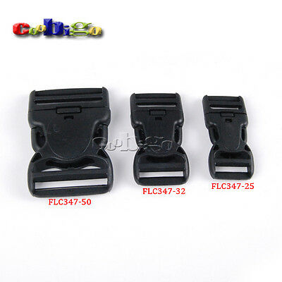Dual Adjustable & Security Double Lock Buckle for Tactical Backpack Belts