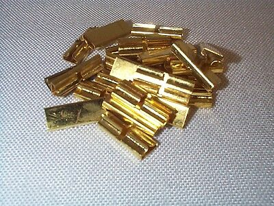 Lionel Large Scale or LGB G Gauge 8-82102 BRASS Rail Joiners YOU GET 24 PCS NOS
