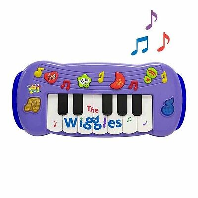 The Wiggles Wiggly Play Along Musical Piano Keyboard for Boys & Girls / Kids Toy