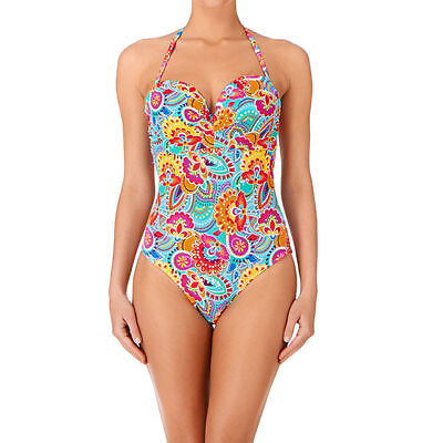 Lepel 'Fiesta' Halterneck/Bandeau Swimsuit - Various Sizes Available (13099)