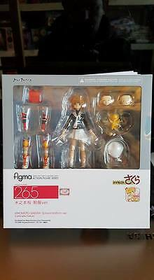 New Import Figma 265 Sakura Kinomoto School Uniform ver. Cardcaptor Sakura Japan