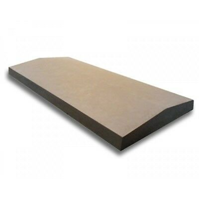 Twice Weathered 5.5 inch - 1 Brick Cast Concrete Coping Stone (140mm x 600mm)