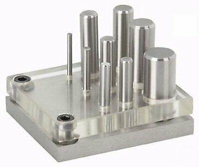 """TruePower 02-0444 Punch & Die Set, 9 Piece,Accurate to within 0.002"""" NEW"""