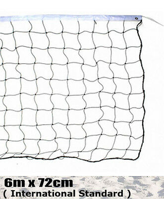 NEW INTERNATIONAL SIZE BEACH VOLLEYBALL NET badminton fabric volley ball fitness