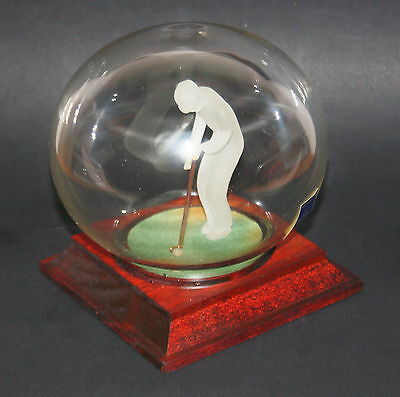 Glas - Mayflower - Model - Golfer Putting (Globe) - NEUWARE