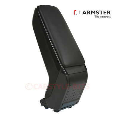 FIAT 500 / 500C / 595 Abarth '2008-2015 Armster S Armrest Centre Console - Black