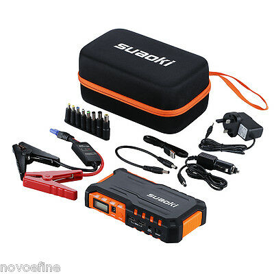 Suaoki G7 LED 18000mAh Car Jump Starter Pack Booster Charger Battery Power Bank