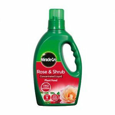 Miracle Gro Rose and Shrub Concentrate Liquid Plant Food 1 Litre