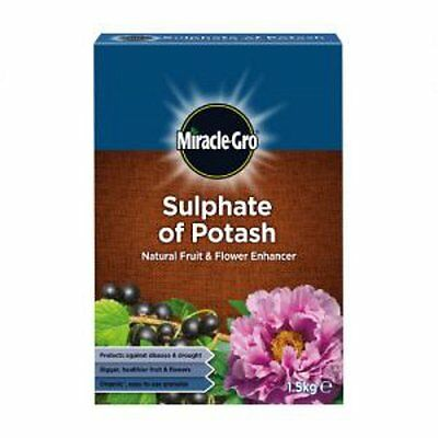 Miracle Gro Sulphate of Potash Natural Fruit and Flower Enhancer 1.5kg