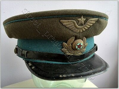 WW2 Officers cap, Air Force, VVS Soviet Union, USSR, early period after RARE