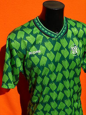 AYSO Jersey Maillot Camiseta Maglia Porté Worn Score Made in USA Vintage Soccer