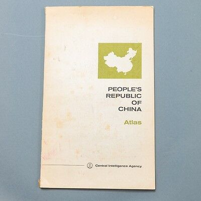 VTG People's Republic of China Atlas Central Intelligence Agency 1971 GREAT