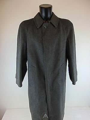 Vintage USATO 80 LODEN Giacca M L Jacket Grigio Made in Austria Osterreich Used