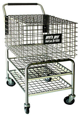 Pro's Pro B-500 Tennis Ball Basket Cart Collector 400 Capacity