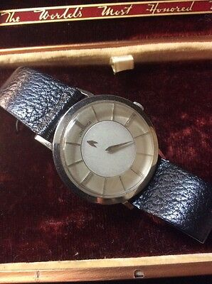 Longines Men's 14k Mystery Dial Wrist Watch With Original Boxes GREAT CONDITION