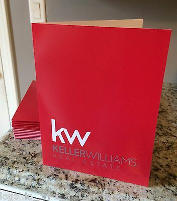 (25) Keller Williams Presentation Folders - The Best Quality !