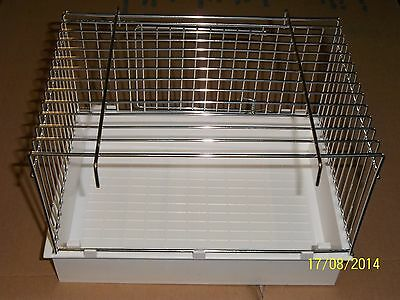 2 X Large Bird Baths For Cage & Aviary Birds *brand New*
