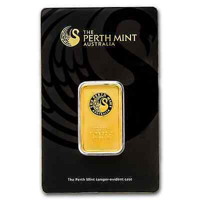 20 gram Perth Mint Gold Bar - In Assay Card - SKU #57161