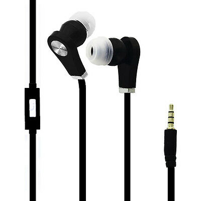 Ecouteurs Audio Intra-auriculaires Noir pour Samsung Galaxy Tab 10.1