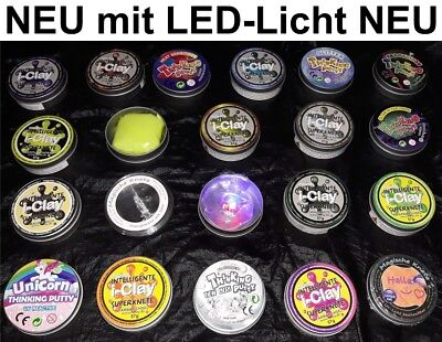 i-Clay Original magische intelligente Superknete Knetmasse LED Licht Putty Slime