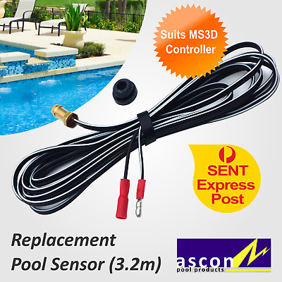 New Pool / Cold Temperature Sensor - Ascon MS3D Solar Pool Heating Controller
