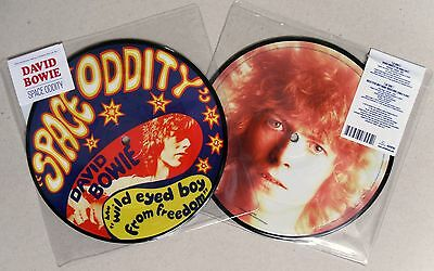 """David Bowie * Space Oddity * 40Th Anniversary Limited Ed 7"""" Picture Disc * Bn!"""