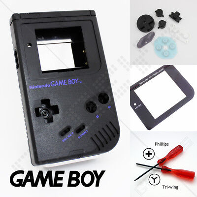 New Black Nintendo Game Boy Classic/Original DMG Case/Shell/Housing/Casing DIY