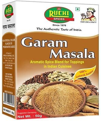 Ruchi Garam Masala Mixed Spices Powder Indian Organic Aromatic Spice Food