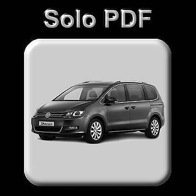 Volkswagen Sharan (2011-2016) - Workshop, Service, Repair Manual - Wiring