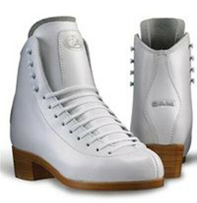 CLEARANCE GAM ULTRA FIGURE SKATING BOOTS SKATES  0095 White ADVANCED Level