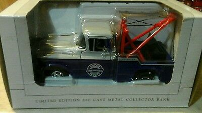"""SpecCast Limited Edition """"Super Chevrolet Service"""" 1:24 Collector Bank 2170 NEW"""