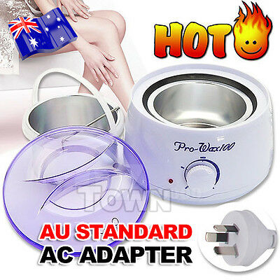 Wax Warmer Pot Heater Hair Equipment Removal Set Salon Beauty Waxing Paraffin
