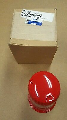 Fuel Pump Filter Bowl - Red and White -FoMoCo Lettering - Falcon mustang