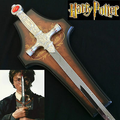 Harry Potter Wizard Sword of Godric Gryffindor 440 Stainless Steel with Plaque