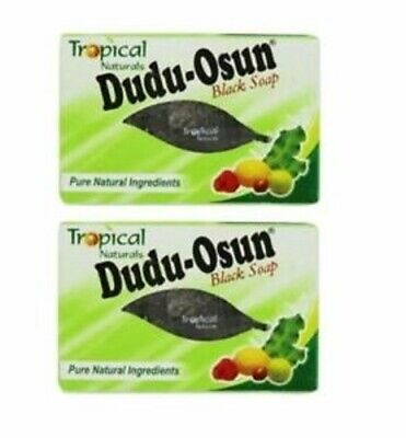 Dudu Osun Tropical Naturals African Black Soap for Eczema, Acne, Fungus 150g