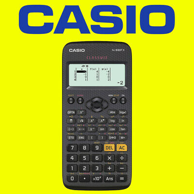 Casio FX-83GTPLUS Black Scientific Calculator Mathematics Maths - Back to School