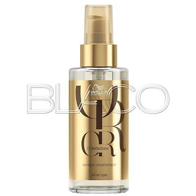 Wella Oil Reflection Levigante 100Ml Cristalli Olio Riflessante Per Capelli