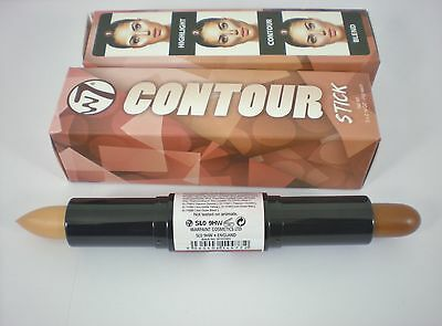 W7 Dual Face Shaper Contour Stick 4g choose your skin tone